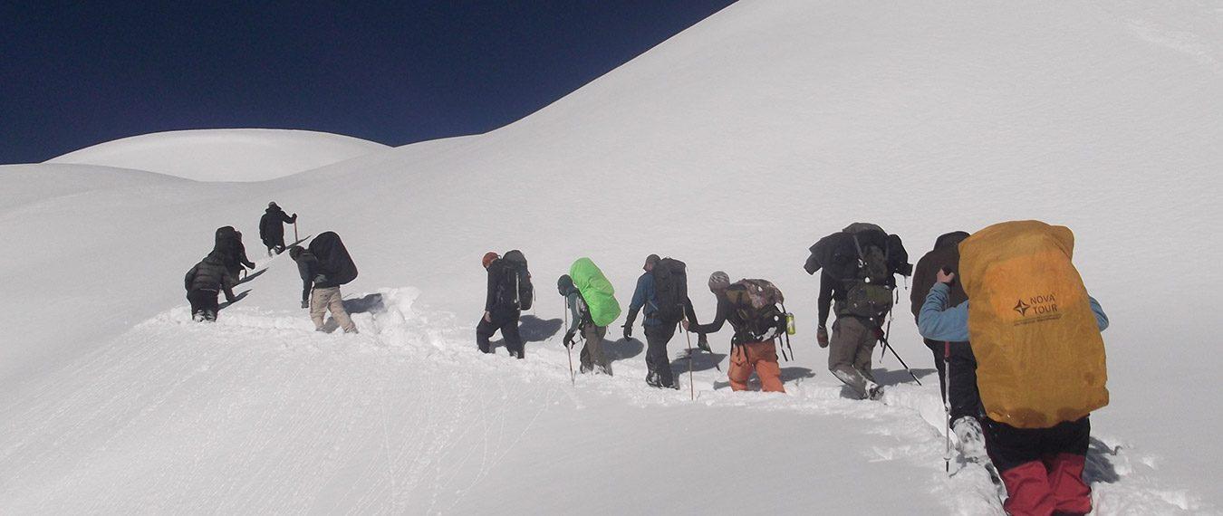 Annapurna circuit in January