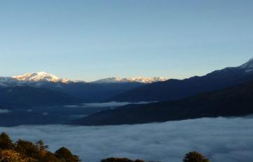 Annapurna mountain flight