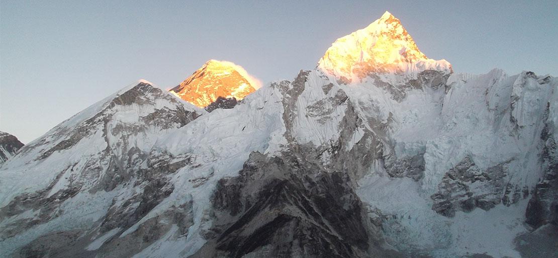 Mountains on Everest Base Camp Trek