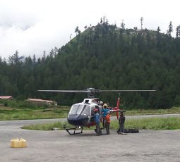 Mt.kailash helicopter tour