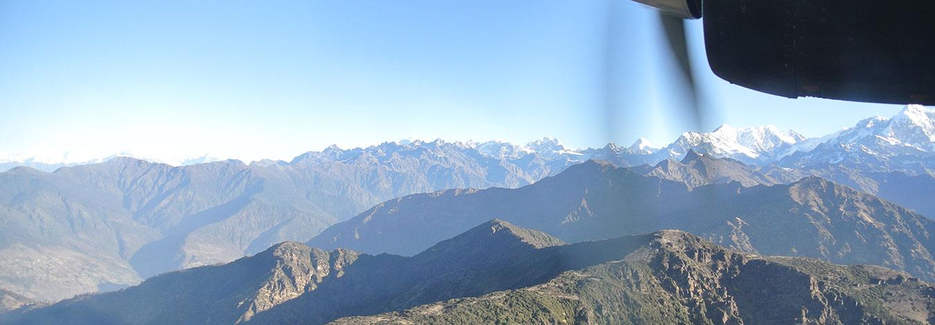Khumbu Views during Mountain flight