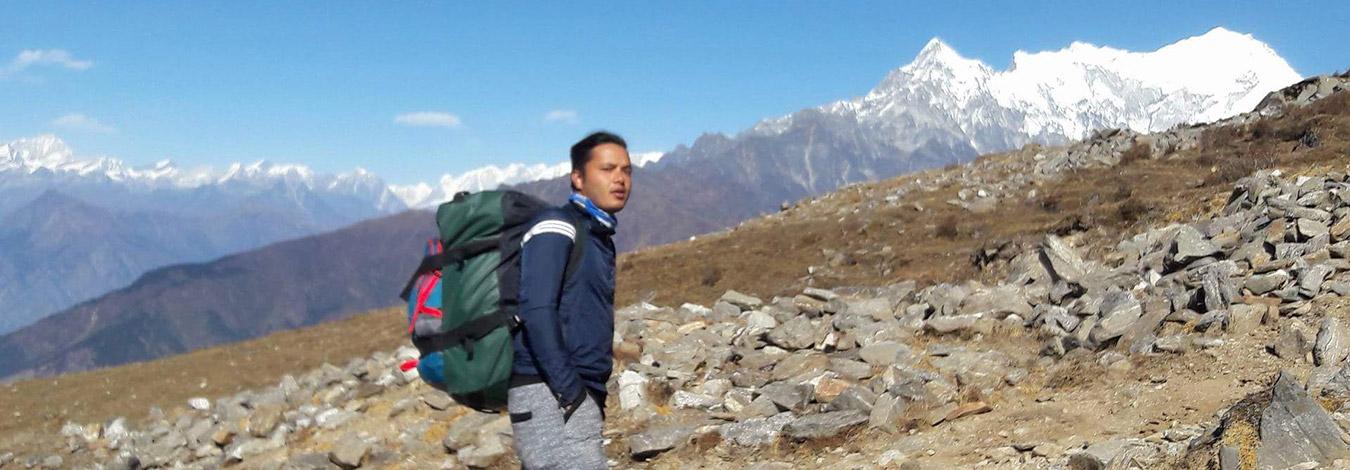 Laurininayak during gosainkunda pass trek