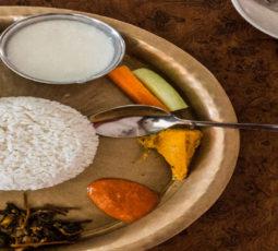 Nepali food cooking class