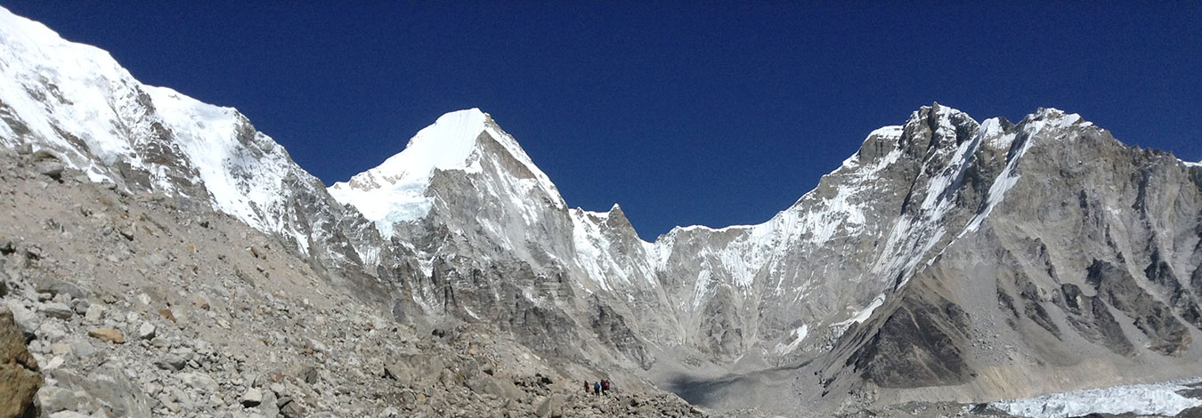 On the way to Everest base camp Nepal