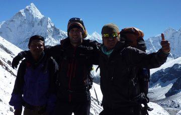 Everest high pass trek