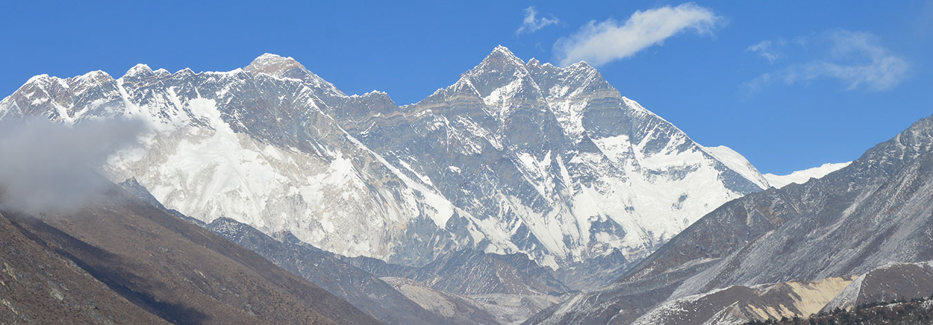 Views from Syangbochea in Everest