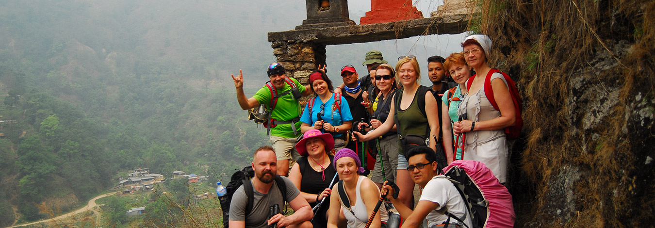 Annapurna trekking group