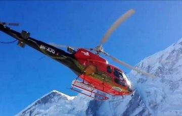 Mt. Everest Helicopter Charter Flight Tour to Base Camp