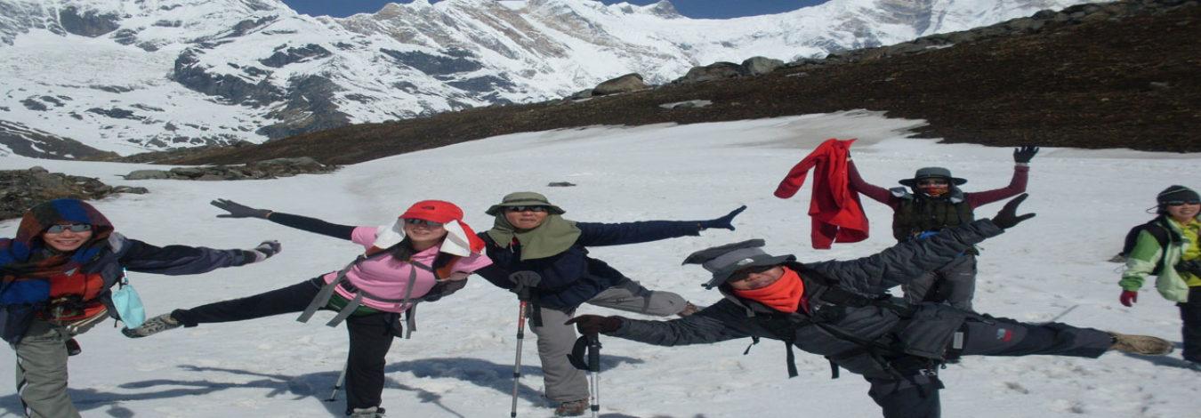Heli tour to Annapurna