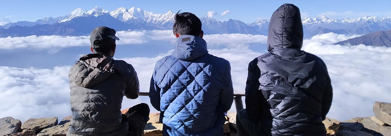 Langtang valley view