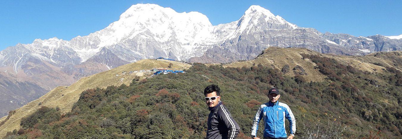 Porters on Mardi Himal trek