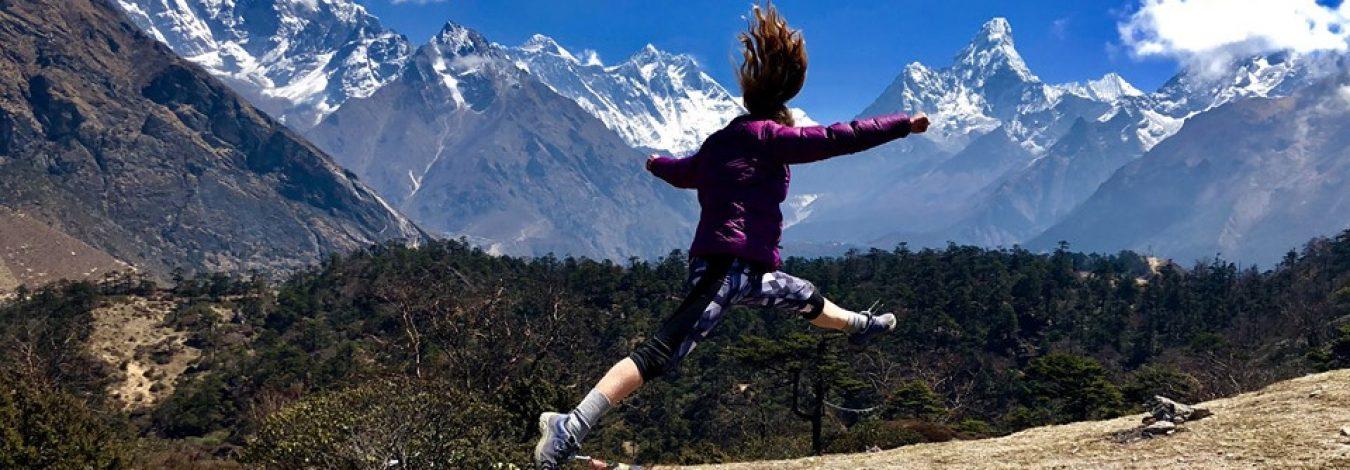 Yoga trek in Everest Nepal
