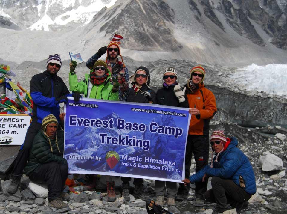 Hike Everest base camp